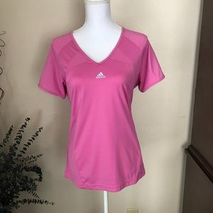 Adidas, Athletic Top, Pink, Size...LG